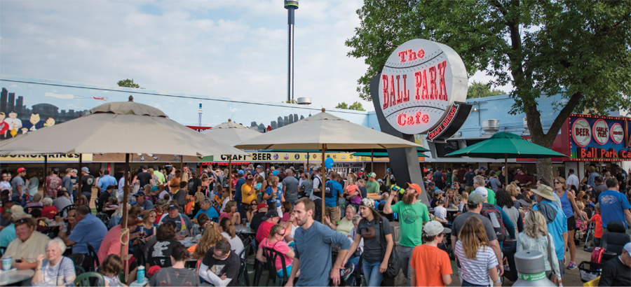 The Ball Park Cafe at the Minnesota State Fair.