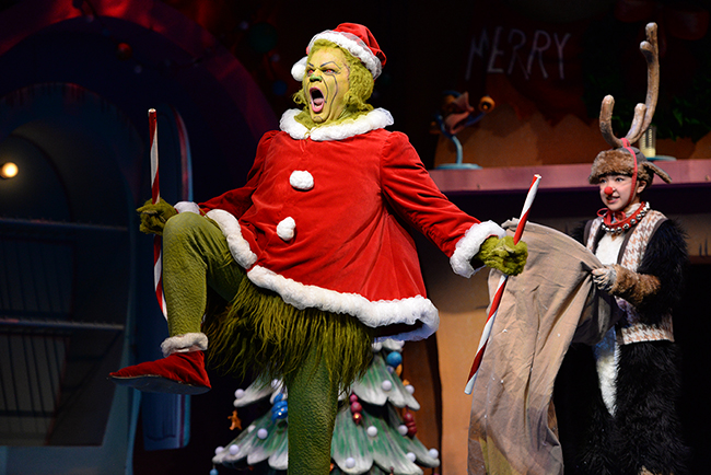 Photo of Reed Sigmund and Natalie Tran in Dr. Seuss's How The Grinch Stole Christmas! by Kaitlin Randolph