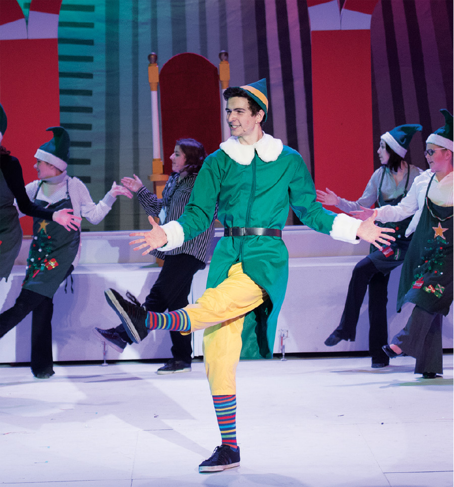 A production of Elf Jr at Ashland Productions.
