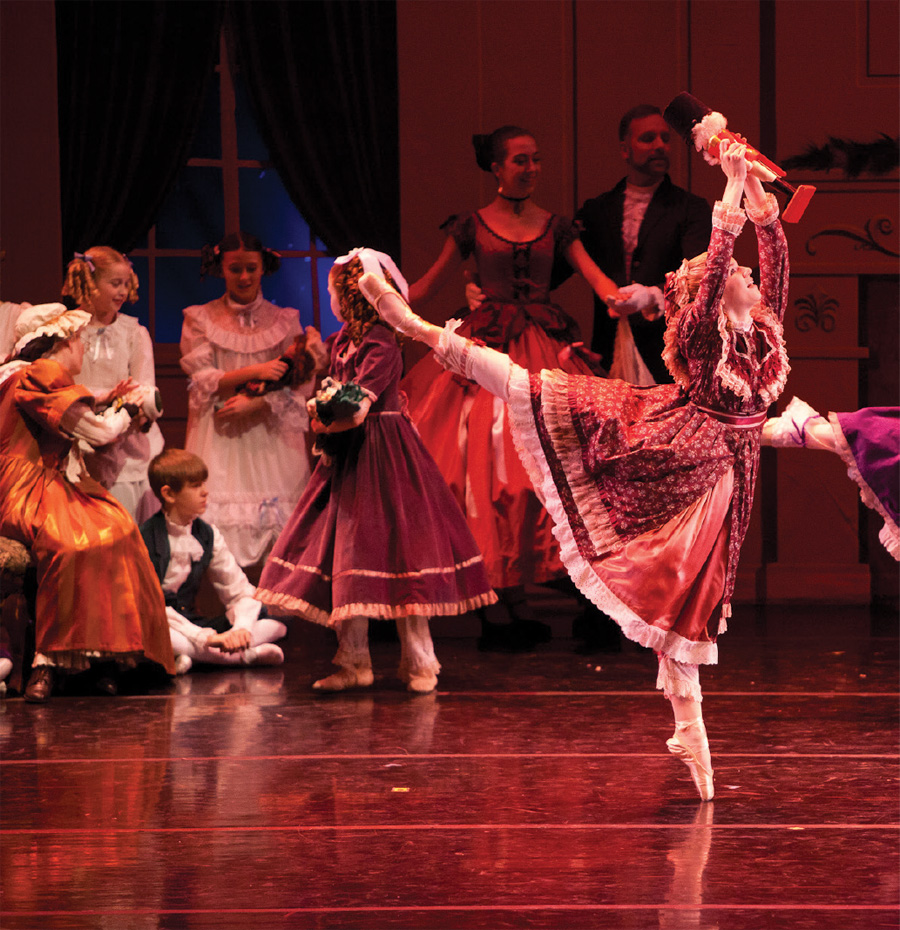 A production of The Classic Nutcracker at Ballet Minnesota.
