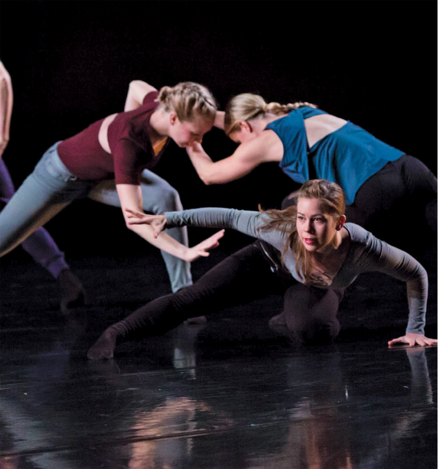 A production by the Zenon Dance Company at The Cowles Center.