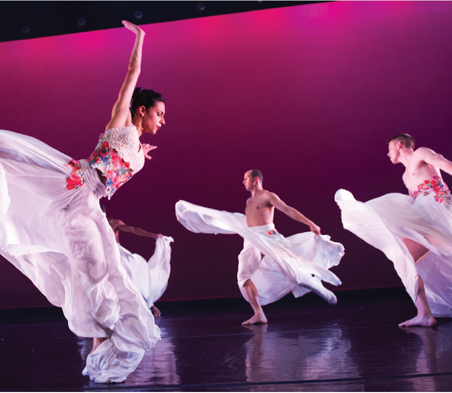 A production of Ballet Hispanico at Northrop.