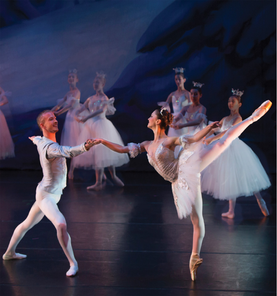 A production of A Minnesota Nutcracker by the Twin Cities Ballet of Minnesota.