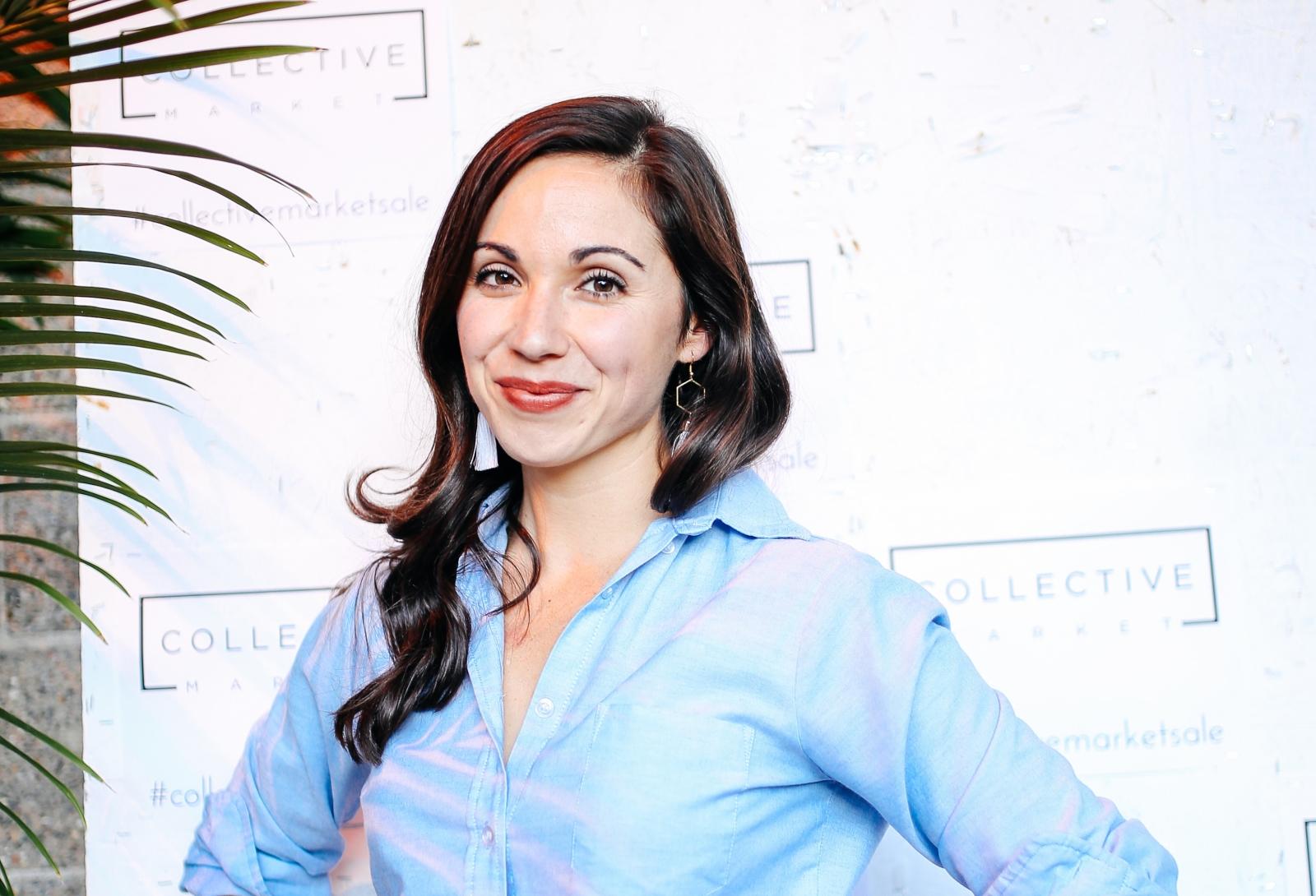 Serena Fallahi Tittl, founder of the Collective Market. Photo courtesy Collective Market.
