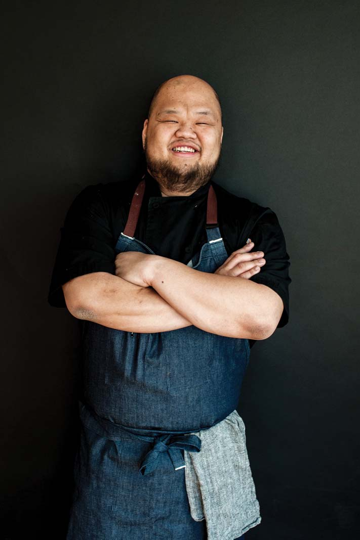 A portrait of chef Yia Vang.