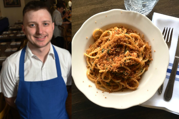 Hyacinth chef Rikki Giambruno
