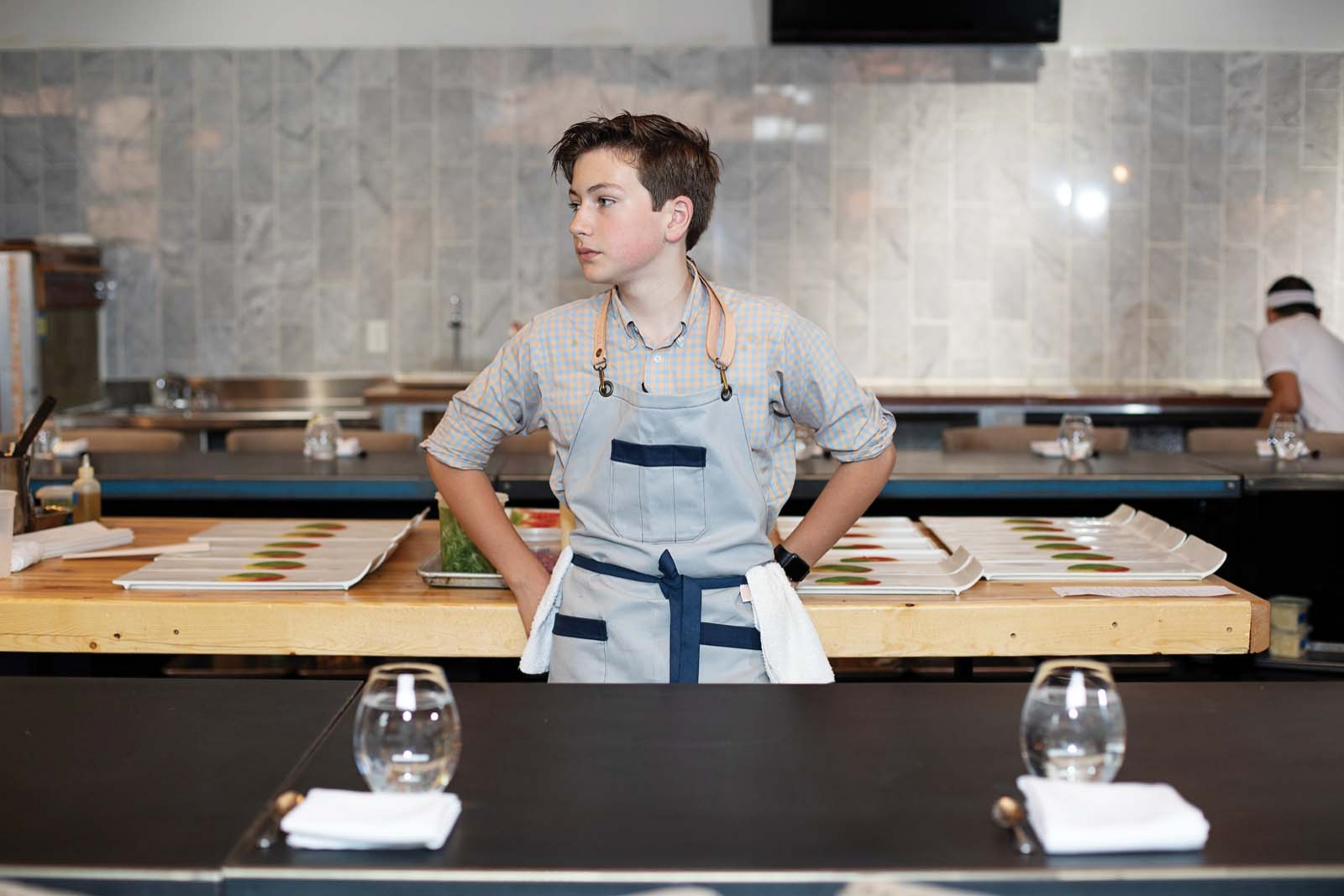 This 14 Year Old Chef Cooks In Top Twin