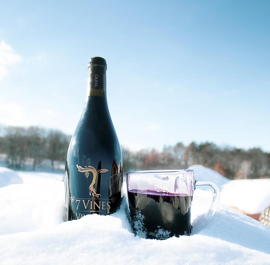 7 Vine Vineyards' Mulled wine