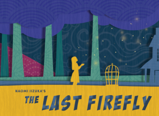 "A paper cut promotional poster for Theater Mu and SteppingStone Theatre's ""The Last Firefly."" Courtesy Theater Mu."