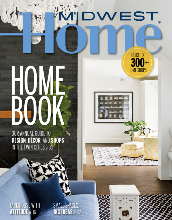 Midwest Home magazine cover