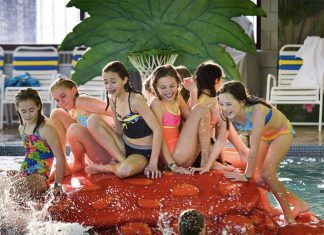 Tropics Water Park at the Shoreview Community Center