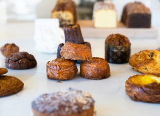 A selection of goodies at Rose Street Patisserie