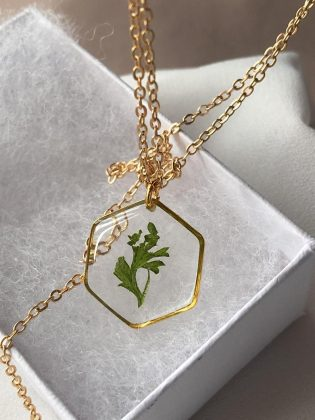 Greenery Necklace by Felis Jewelry