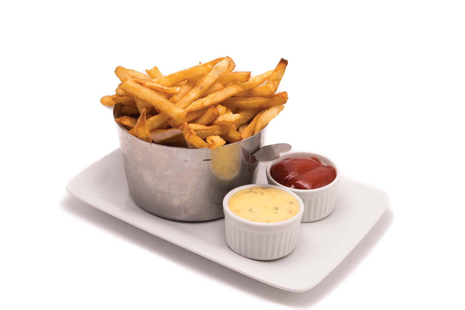 The French fries at Café & Bar Lurcat, in Minneapolis