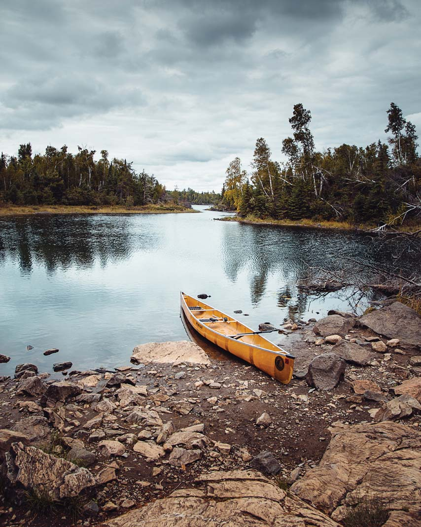 The Boundary Waters Canoe Area Wilderness