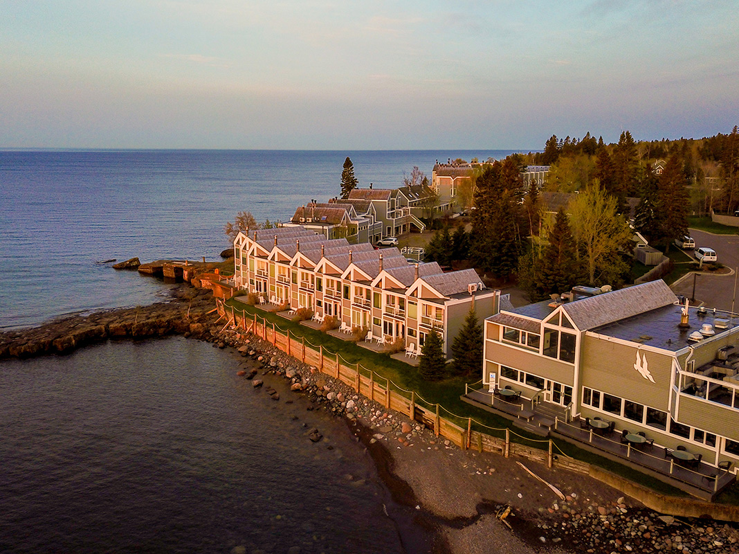 Photo of Bluefin Bay Resort and shoreline