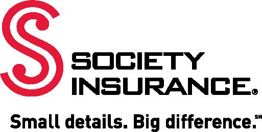 Society Insurance logo, with tagline