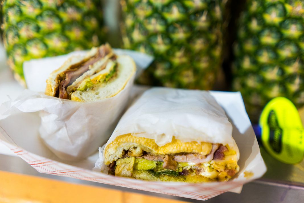 Manny's Tortas also serves—well, tortas, a type of Mexican sandwich again found in the Food Building