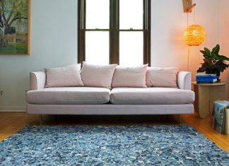 The first products of Winsome Zero, a line to eliminate the studio's waste, are area carpets and welcome mats.