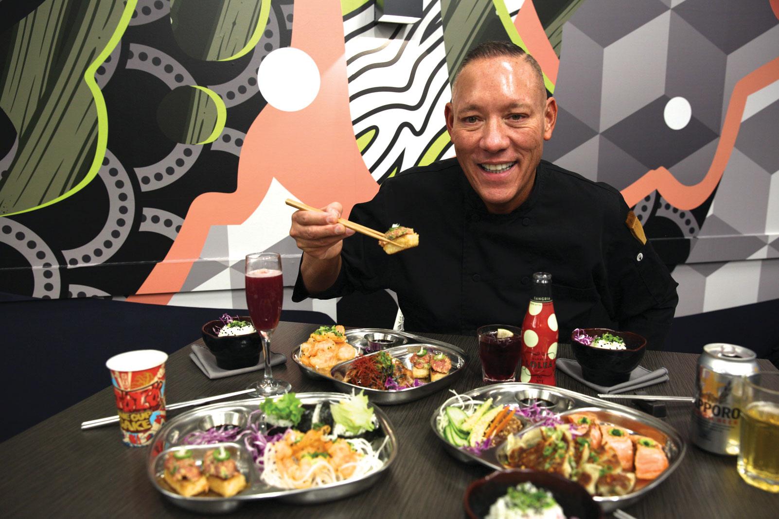 PinkU chef John Sugimura