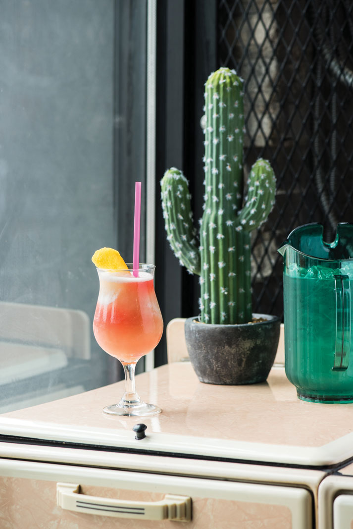 A brunch cocktail at Centro
