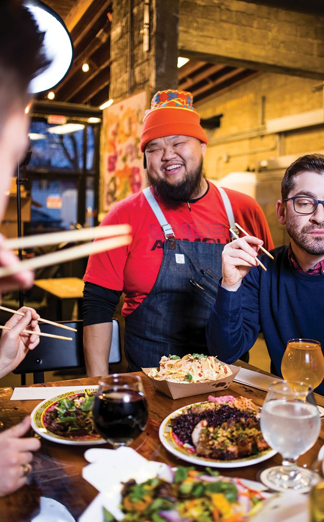 Union Kitchen chef Yia Vang serving up Hmong cuisine