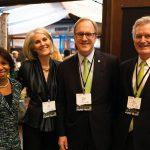From left: Judge Mimi Wright; Ecolab's Julie Baker, Doug Baker, and Dan Schmechel
