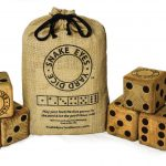 Since 2010, family-owned Snake Eyes Yard Games has produced a line of wooden yard games—dice, dominoes, tic-tac-toe, and more—in Minneapolis. Yard dice starting at $49.99, at Rose & Loon at Rosedale Center and yarddice.com