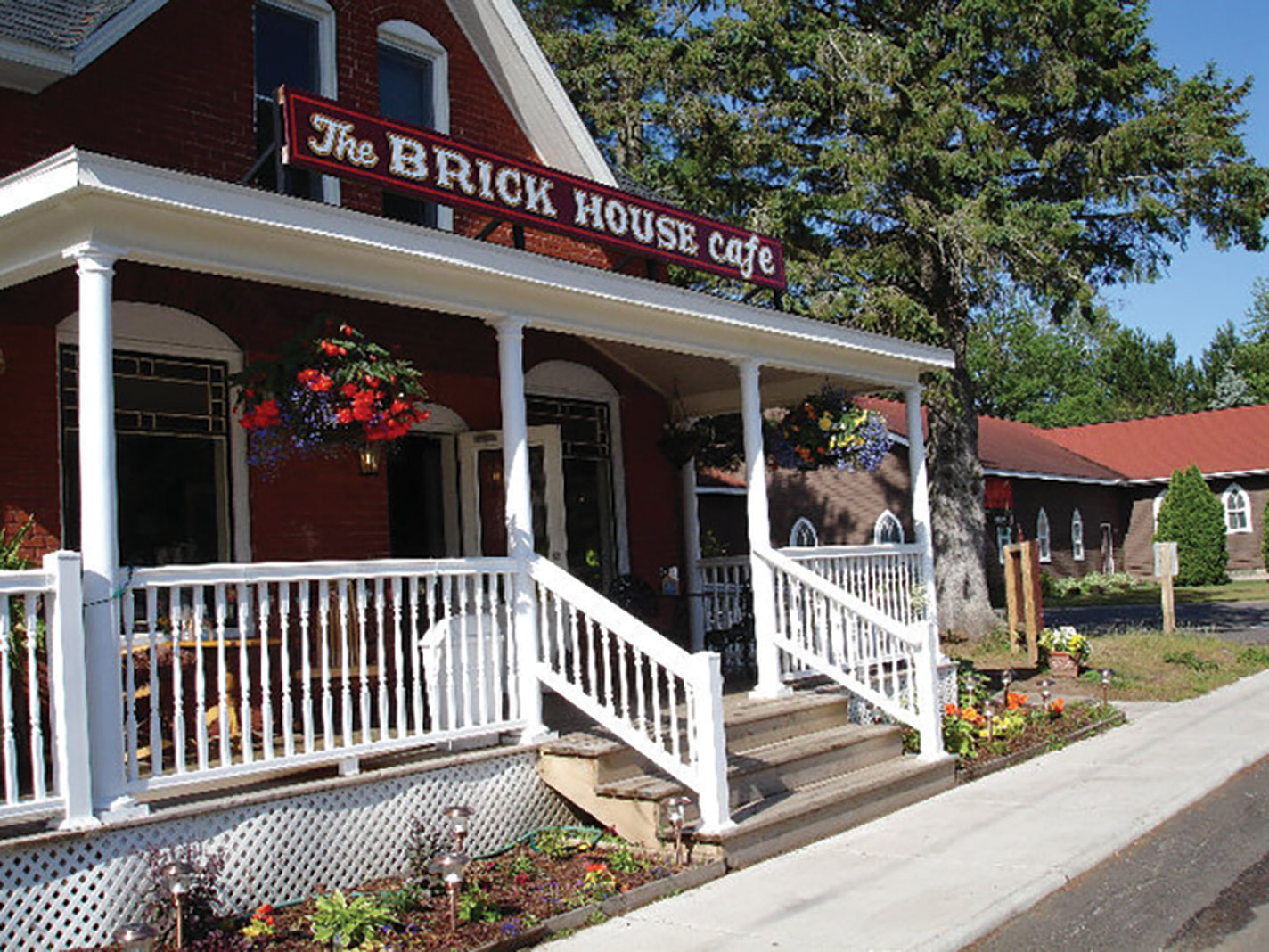 The Brick House Cafe, in Cable