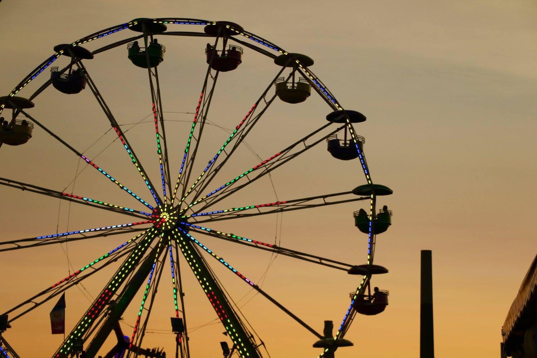 Ferris wheel at the Minnesota State Fair