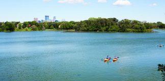 Lake of the Isles, in Minneapolis