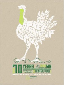 The Ferndale Market poster created by J.C. Lovely in 2012