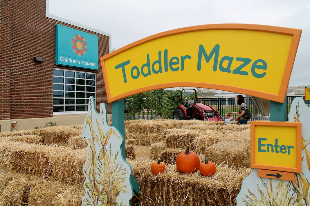 Toddler Maze at Children's Museum of Southern Minnesota