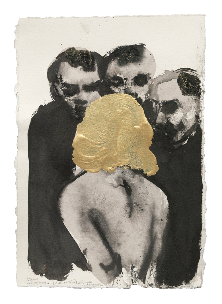 "Expressionist Figure/""Name No Names,"" by ©Marlene Dumas, 2005"
