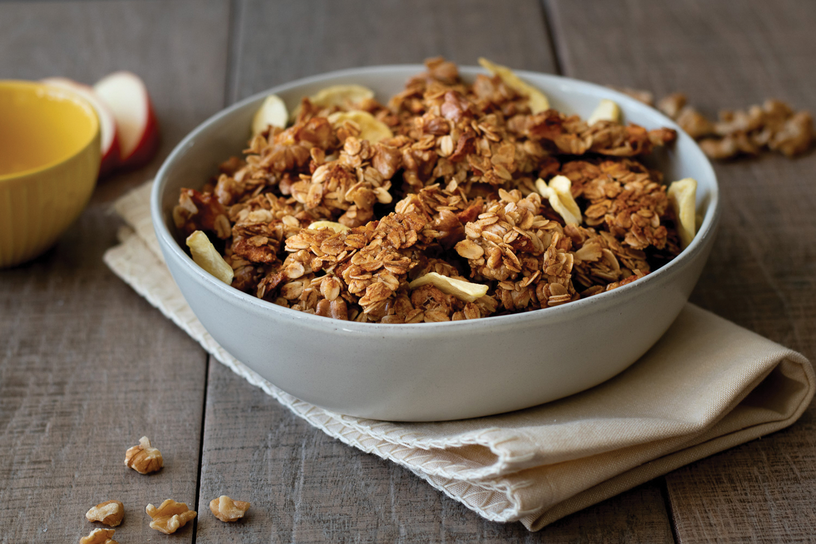 Apple Walnut Granola