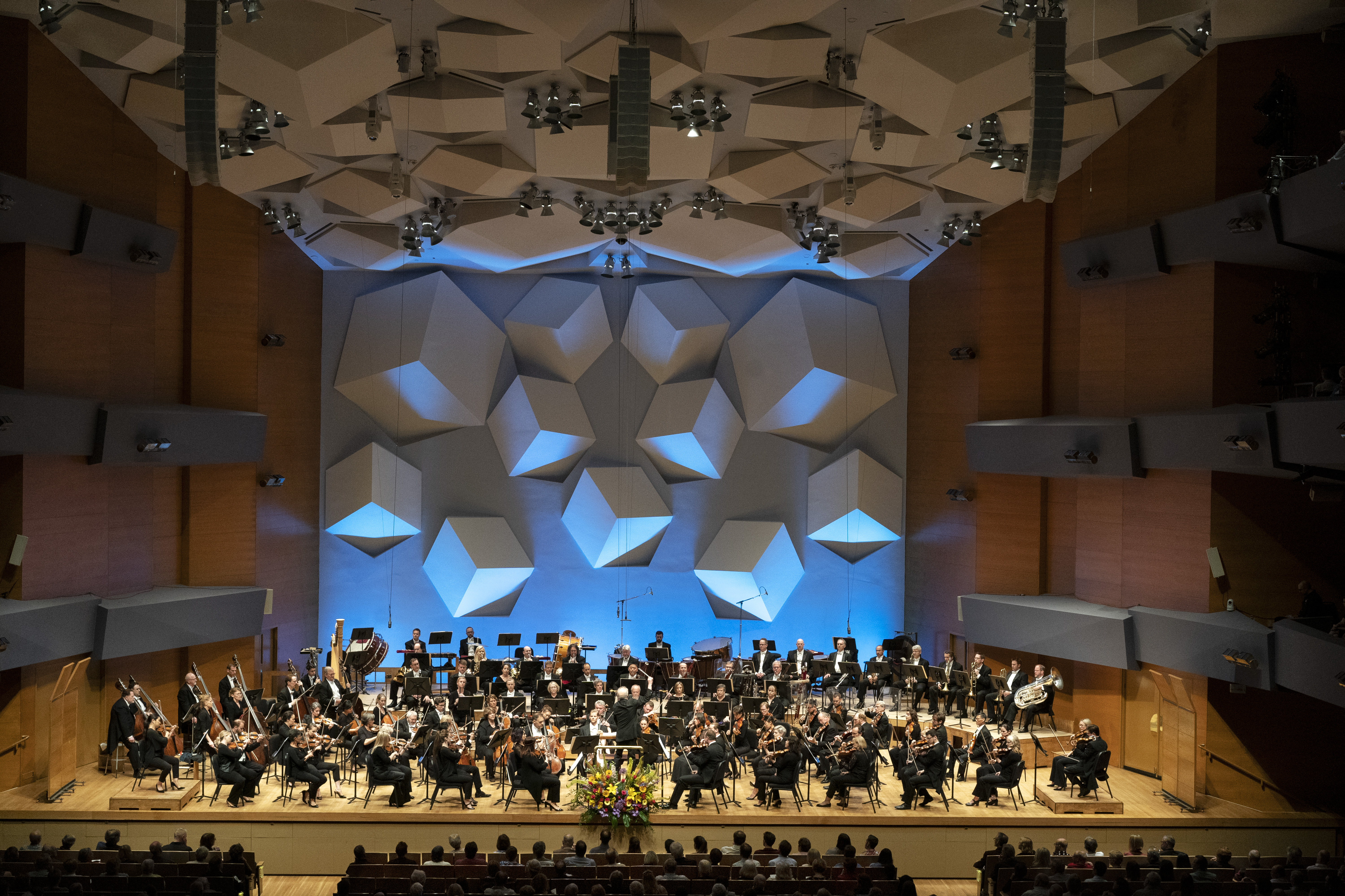 Minnesota Orchestra performance at Orchestra Hall