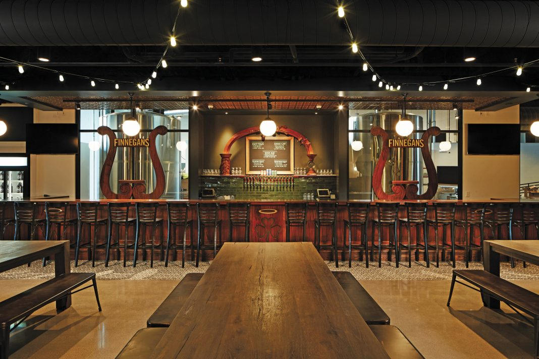 Inside the Finnegans taproom in downtown Minneapolis