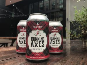 Running with Axes Pale Ale