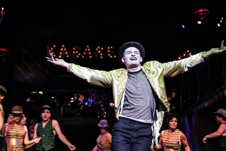 Scott Ragan in Cabaret at Lakeshore Players