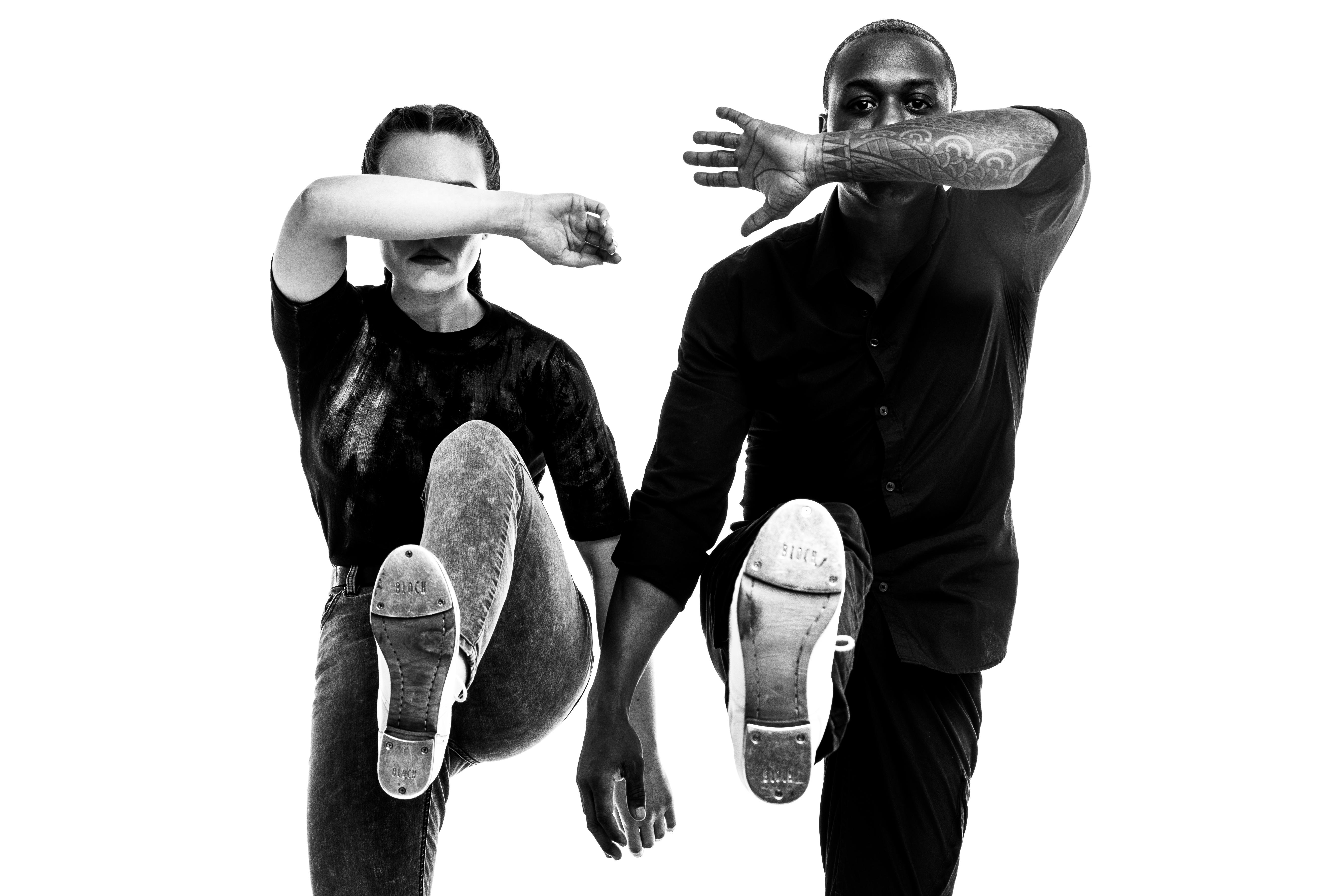 Elizabeth Burke & Christopher Broughton of Dorrance Dance at Northrop at the University of Minnesota