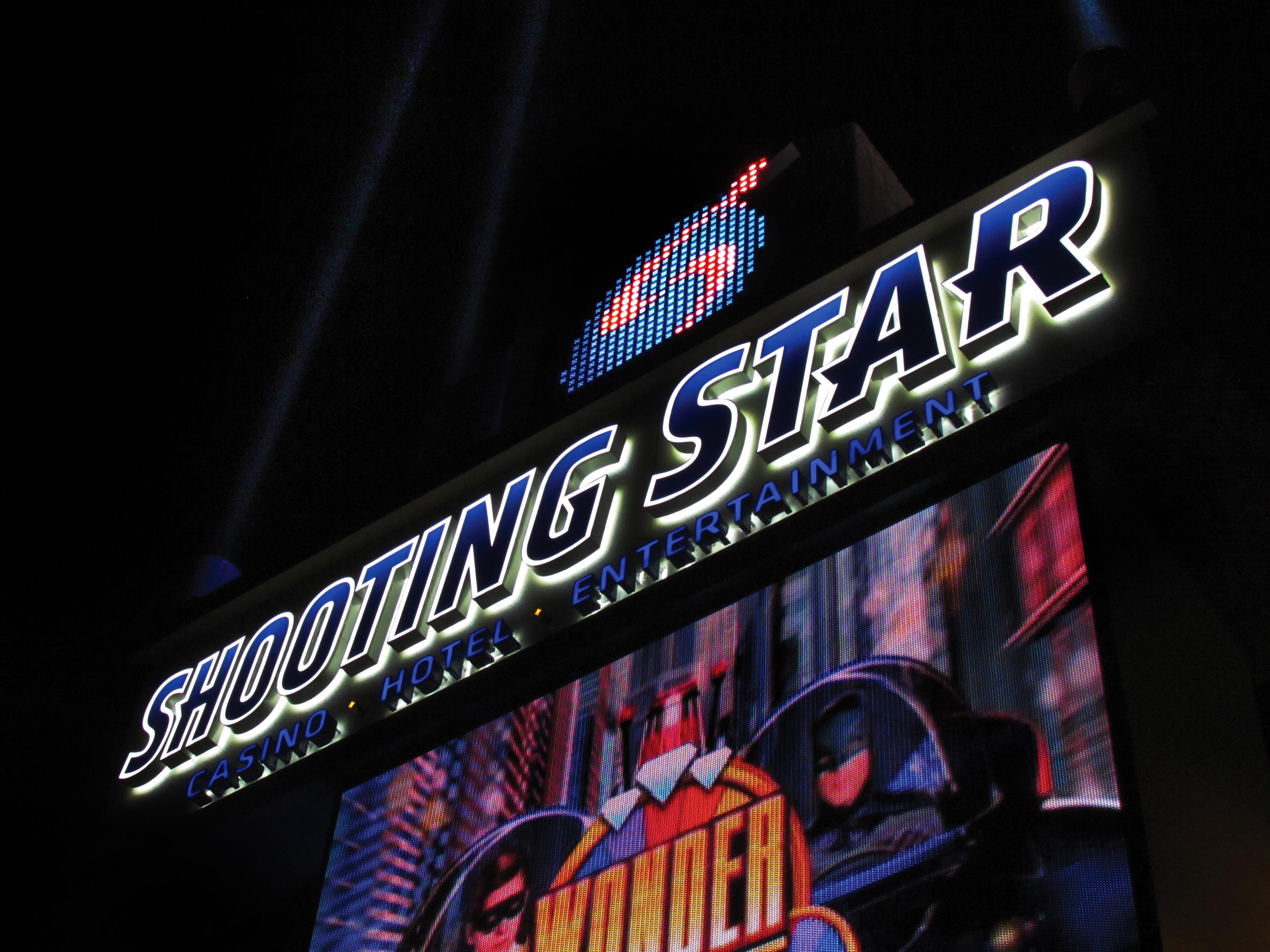 Exterior of Shooting Star Casino