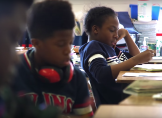 """Still from """"Love Them First: Lessons from Lucy Laney Elementary"""""""