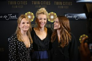 Director Lea Thompson and her daughters Madelyn and Zoey Deutch at the opening night of Twin Cities Film Fest 2017