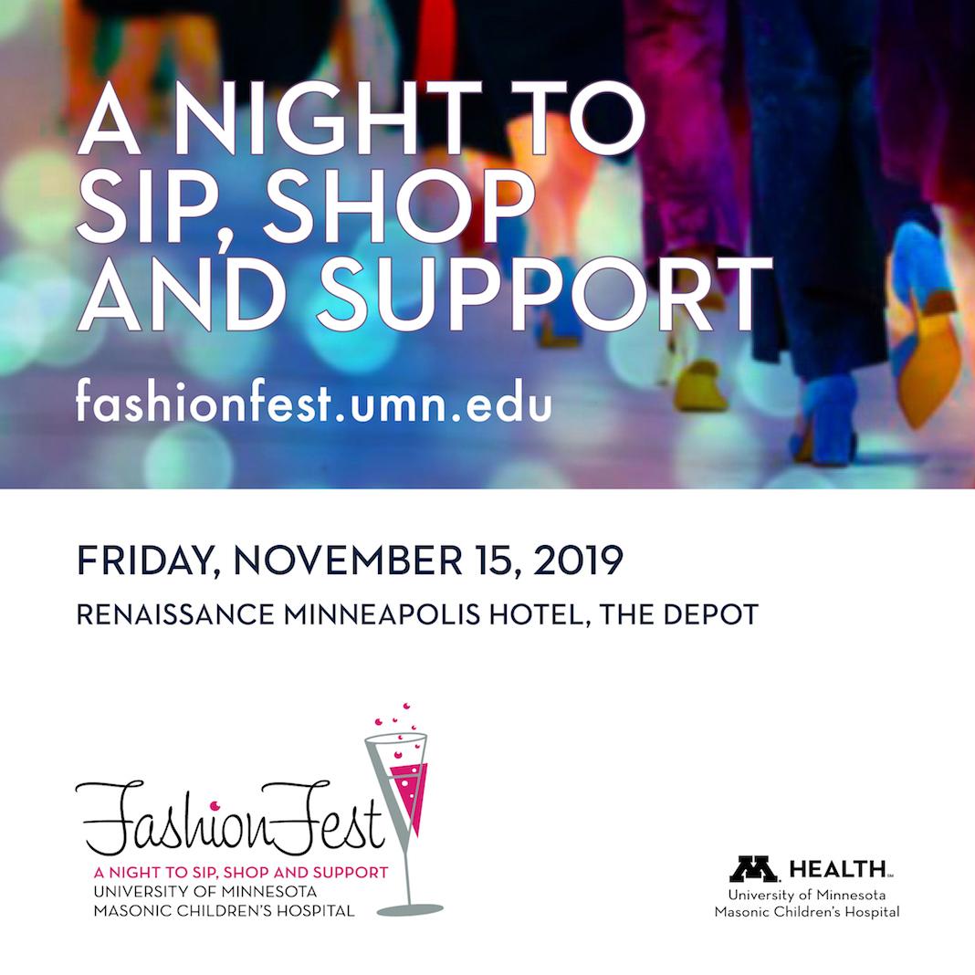 Fashionfest 2019 To Benefit University Of Minnesota Masonic