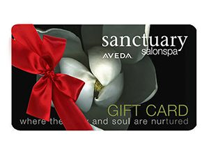 A Sanctuary Salonspa gift card