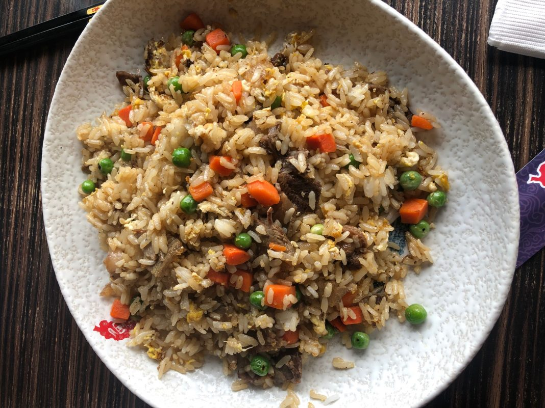 Beef Fried Rice, $9.95