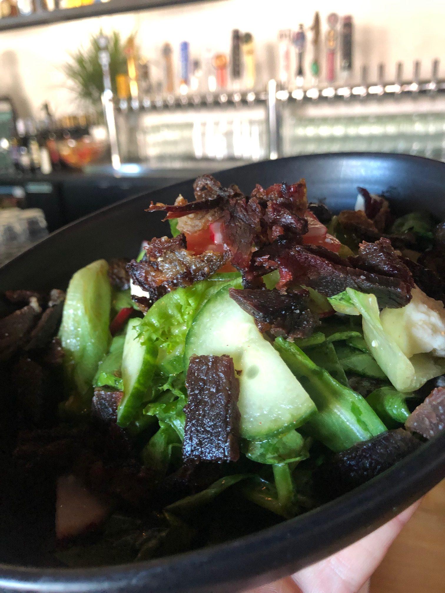 Vaca Frita Salad