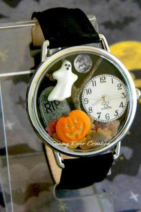 SunnyRiverCreations' Halloween watch
