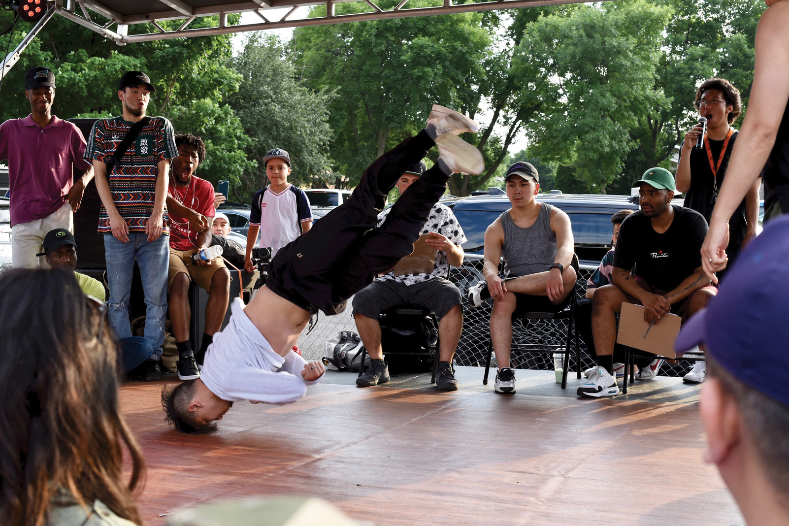 Little Mekong Breakdancing Competition