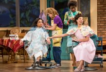"""Steel Magnolias"" at the Guthrie, photo by Dan Norman"